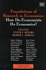 9781858987712: Foundations of Research in Economics: How Do Economists Do Economics? (Advances in Economic Methodology series)