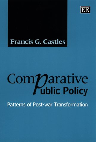 9781858988238: Comparative Public Policy
