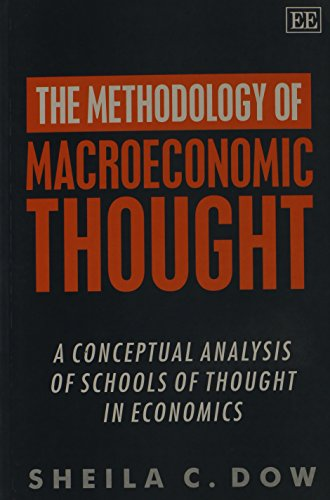 9781858989099: The Methodology of Macroeconomic Thought: A Conceptual Analysis of Schools of Thought in Economics