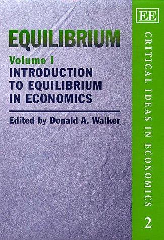 Equilibrium (Hardcover): Donald A. Walker
