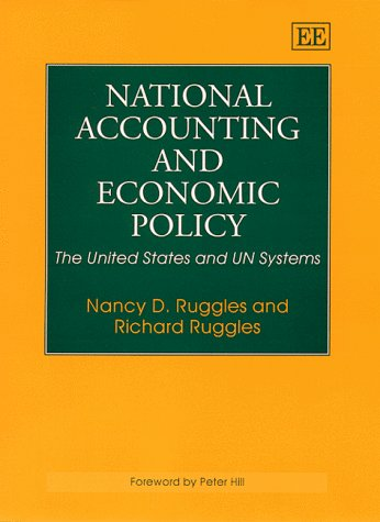 9781858989921: National Accounting and Economic Policy: The United States and the UN Systems