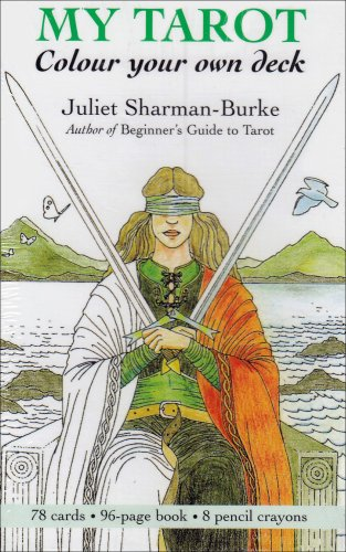My Tarot: Colour Your Own Deck: Sharman-Burke, Juliet