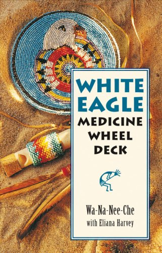 9781859062579: White Eagle Medicine Wheel Deck: 46 Medicine Wheel Cards with 80 Page Book