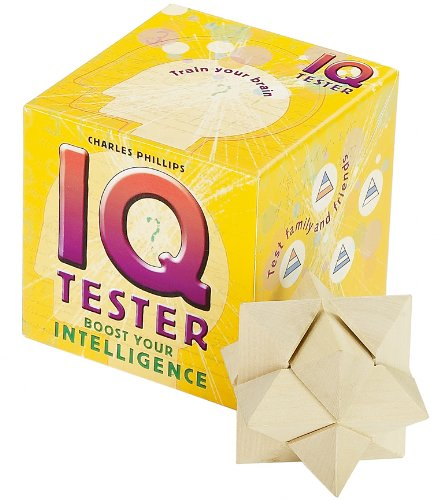 IQ Tester: Boost Your Intelligence (Book-In-A-Box): Phillips, Charles