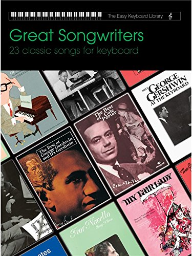 9781859091999: Great Songwriters (Easy Keyboard Library)