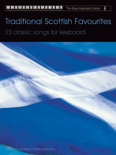 9781859094006: Traditional Scottish Favorites (The Easy Keyboard Library)