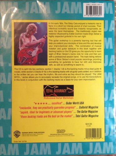 9781859094891: Jam with Brian Setzer: Guitar/Vocal (Book & CD)
