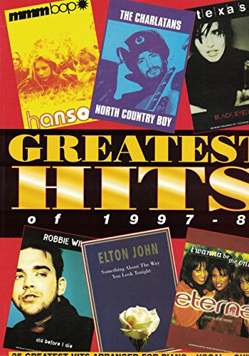 Greatest Hits of 1997-1998: Piano/Vocal/Guitar