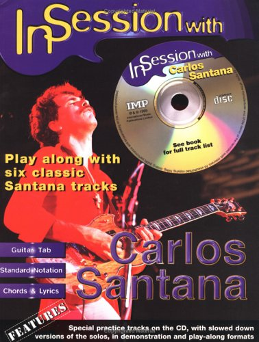 In Session with Carlos Santana (+CD) :Songbook: Carlos Santana