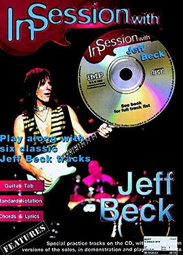 9781859096550: In Session with Jeff Beck: Guitar TAB (Book & CD)