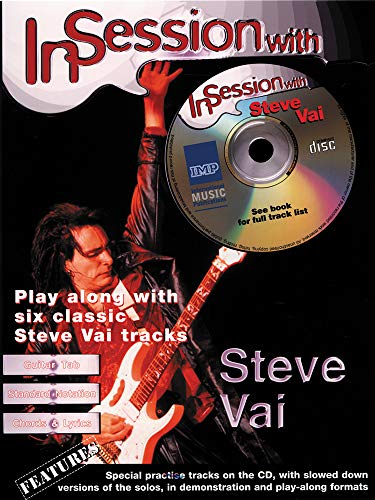 9781859097007: IN SESSION WITH VAI STEVE + CD: (Guitar Tab)