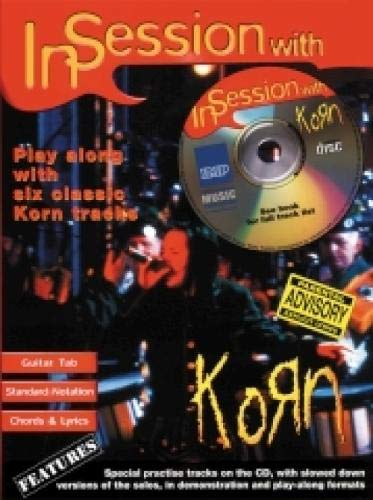 9781859097656: In Session with Korn: Guitar Tab