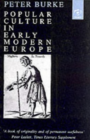 9781859281024: Popular Culture in Early Modern Europe