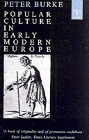 9781859281024: Popular Culture in Early Modern Europe