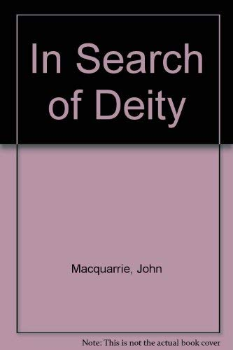 9781859310045: In Search of Deity