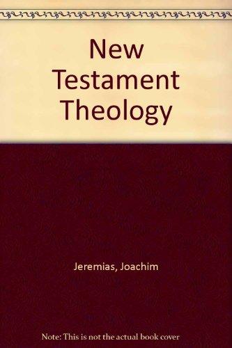 9781859310519: New Testament Theology