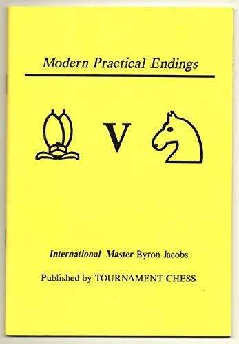 9781859320310: Bishop vs Knight (Modern Practical Endings.)