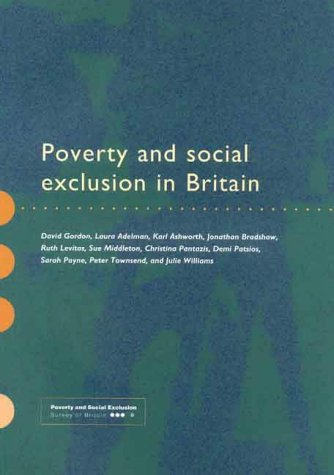 9781859350591: Poverty and Social Exclusion in Britain