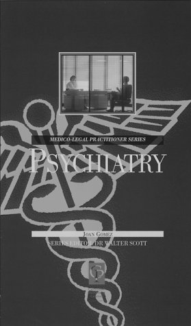9781859410172: Psychiatry For Lawyers (Medico-Legal Practitioner Series)