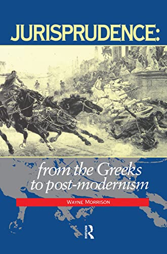 9781859411346: Jurisprudence: From The Greeks To Post-Modernity