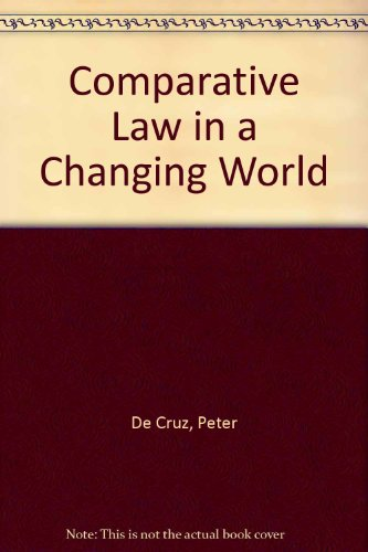 9781859411377: Comp Law in a Changing World