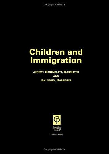 9781859411971: Children & Immigration