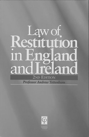 9781859412015: Law of Restitution