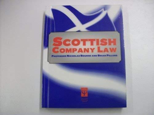 Scots Company Law (Lecture notes): Pillans, Bourne