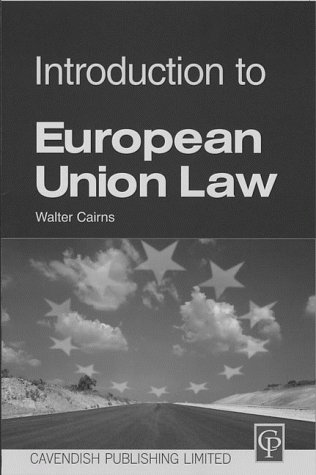 9781859412053: Introduction to European Union Law