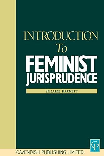 9781859412374: Introduction to Feminist Jurisprudence