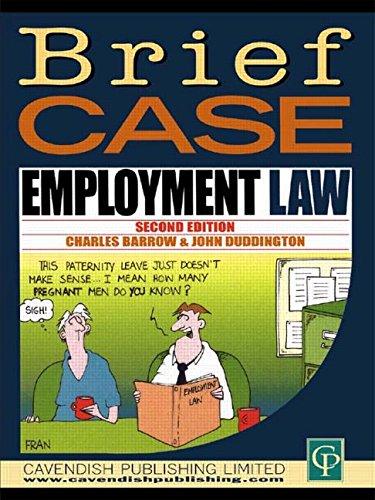 9781859412510: Briefcase Employment Law (Briefcase Series)
