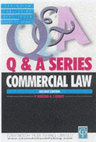 9781859412701: COMMERCIAL LAW (QUESTIONS & ANSWERS)