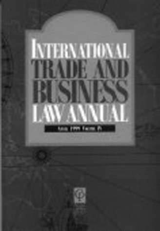 International Trade and Business Law Annual (v.: Queensland University, Foreign,