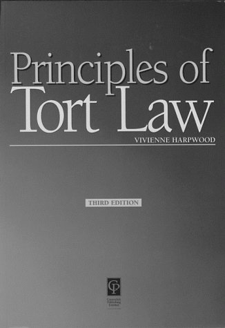 9781859413784: Tort Law (Principles of Law)
