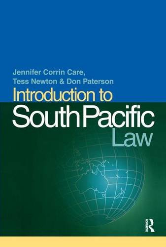 9781859414316: Introduction to South Pacific Law