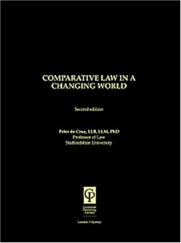 9781859414323: Comparative Law in a Changing World