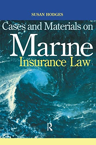 9781859414385: Cases and Materials on Marine Insurance Law
