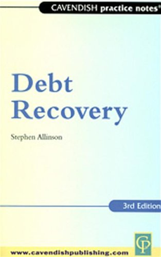 9781859414491: Practice Notes on Debt Recovery (Cavendish Practice Notes)