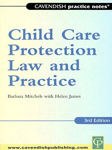 9781859414552: Practice Notes: Child Care Protection Law and Practice 3rd edn (Practice Notes)