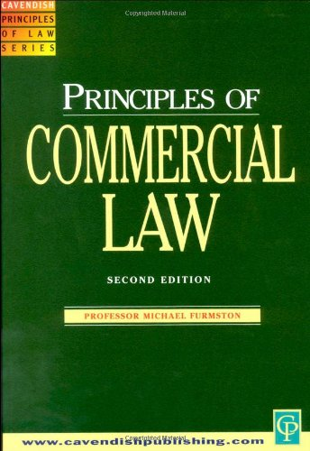 9781859414637: Commercial Law (Principles of Law)