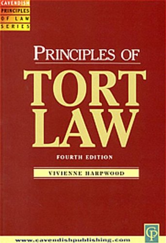 9781859414675: Principles of Tort Law
