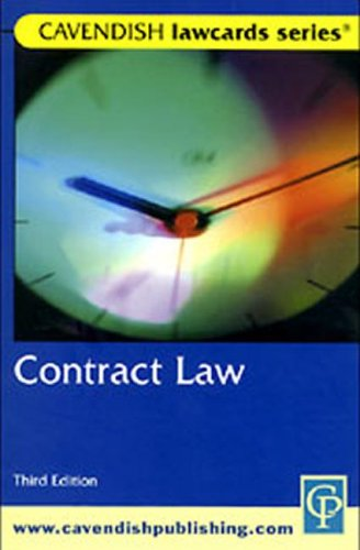 Cavendish: Contract Lawcards: Routledge-Cavendish