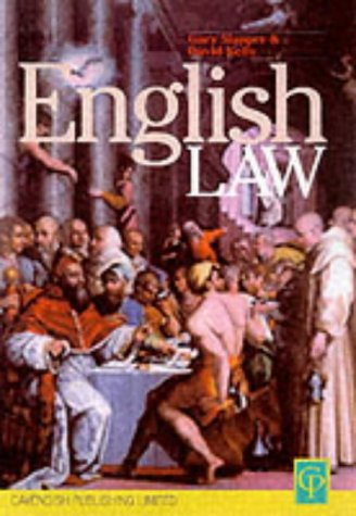 9781859415580: English Law