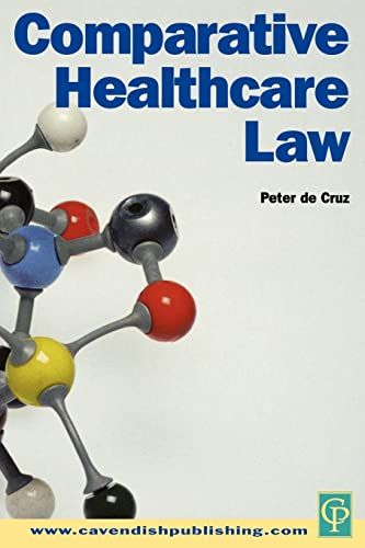 Comparative healthcare law.: Cruz, Peter de.