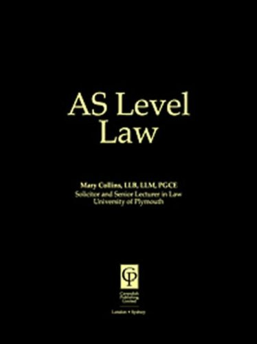 9781859415962: AS Level Law