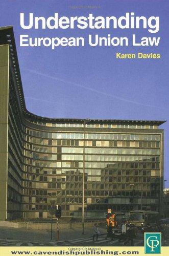 9781859416112: Understanding European Union Law