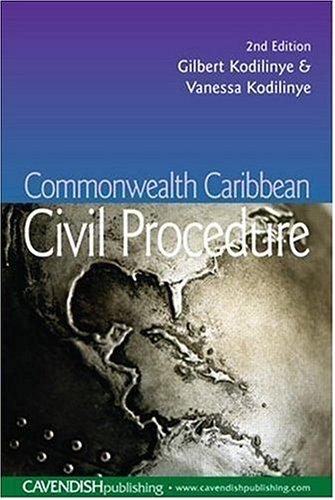 9781859416532: Caribbean Civil Litigation 2nd Edition