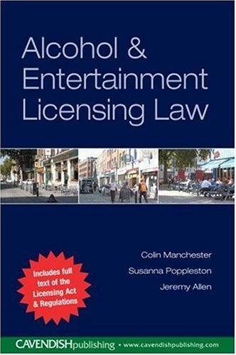 9781859416723: A Guide to the Licensing Act 2001( Alcohol & Entertainment Licensing law )