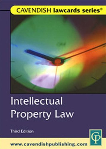 Cavendish: Intellectual Property Lawcards: Routledge-Cavendish