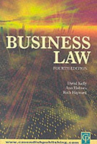 Business Law: Ruth Hayward, Ann
